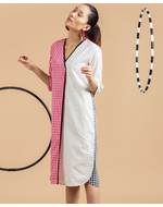 Olio Kimono Dress, multi, s