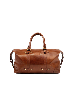Brandless Weekender Duffel, brown