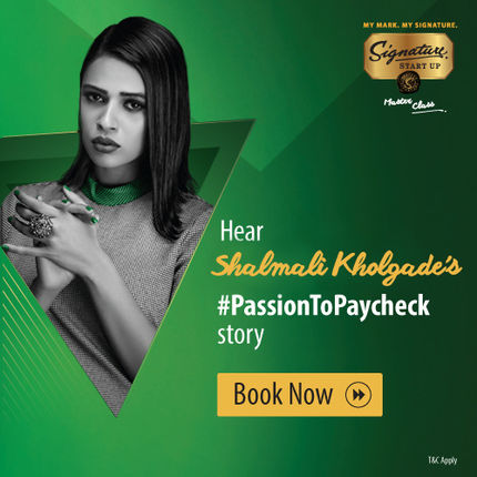 Signature Start-up Master Class Season 2 - Shalmali Kholgade, Goa 1 February 2018 at 7: 30PM