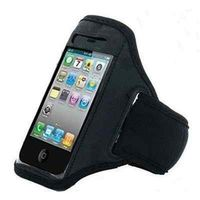 Sporty Running Armband Gym Case Pouch for Sony Xperia Miro Tipo E Dual iPhone 4S