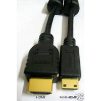 Premium HDMI Type A to MINI HDMI Type C V1.4 Cable Mobile Tablet Camcorder 1.8 M