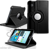 360* Rotating Leather Case Cover Stand For Samsung Galaxy Tab 2 7.0 P3100 P6200