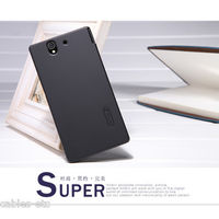 Nillkin Super Frosted Matte Hard Back Cover Case For Sony Xperia Z LT36i - Black