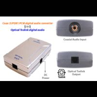Reliance BIG TV HDDVR Coaxial to Home Theater Optical