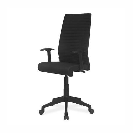 Buy Thames Fabric High Back Chair Black Online Nilkamal Furniture