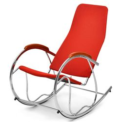 Dylan Rocking Chair,  red