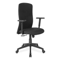 Gary High Back Chair,  black