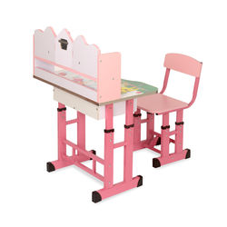 Barrie Study Desk Wth Chair,  pink