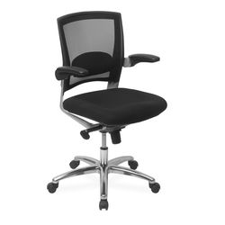 Opera Low Back Office Chair,  black