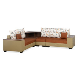 Envy Corner Sofa,  brown