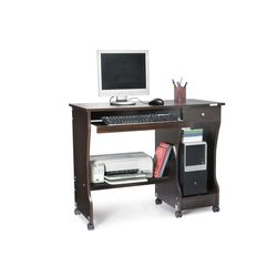 Zenith Computer Table,  walnut