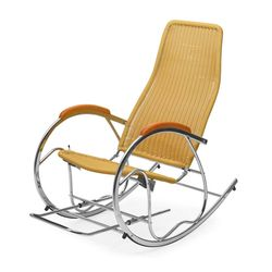 Wegner Rocking Chair,  beige