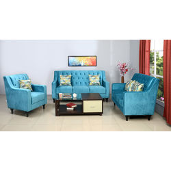 Seattle 1 Seater Sofa,  blue