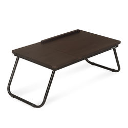 Inspiron Folding Laptop Bed Desk,  walnut