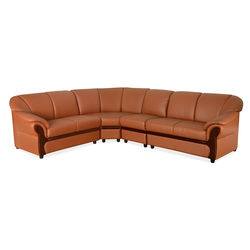 Melisa 1+ 2+ 2+ Corner Sofa,  light brown