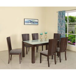 Brighton 6Str Dining Table,  expresso
