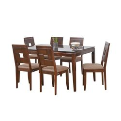 Hampshire 6 Seater Dining Table,  walnut