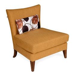 Liiana Lounge Chair,  gold