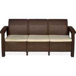 Goa Three Seater Cushion,  brown