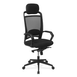 Hermit High Back Office Chair,  black