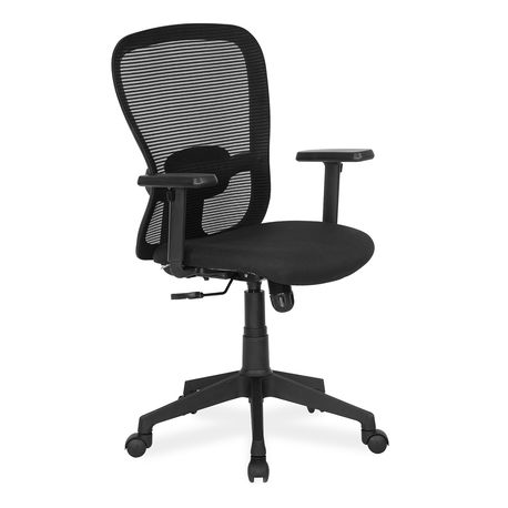 Buy Alba Mid Back Mesh Chair Black With Cts Black Online