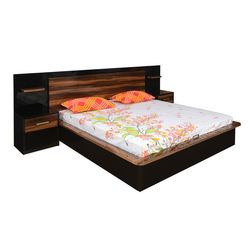 Plum King Bed,  plum