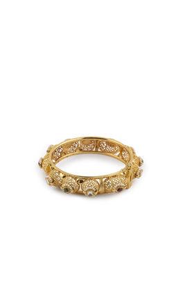 MULTI KUNDAN DODI PIECE 1GM GOLD BANGLES