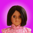 Taara Doll Package (Pink Flower Dress)