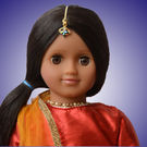 Mani Doll Package (Festive Red Lehenga)