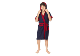 Sand Dune Blue Free Size Bath Robe (1 Kids Bathrobe, For: Baby Boys & Baby Girls, Blue), free size