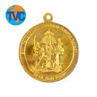 Panch Mukhi Hanuman Kawach,  gold