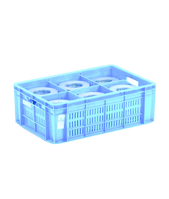 PARTITION CRATES FOR SYMMETRICAL COMPONENTS