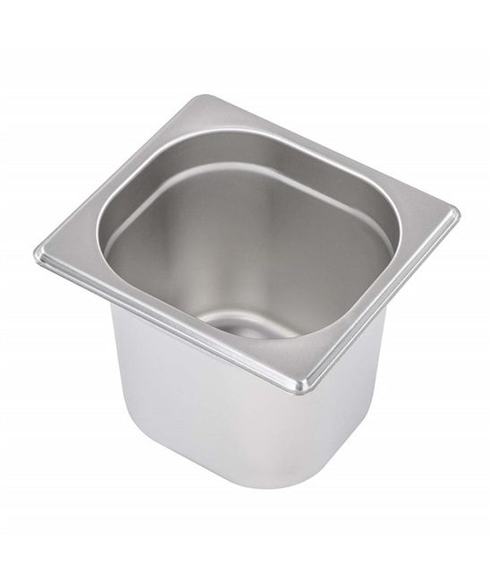 1/6 Stainless Steel Gastronorm (GN) Pans