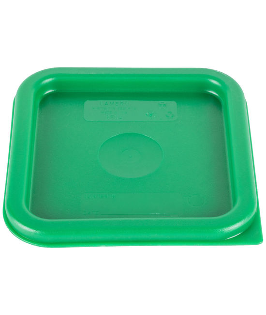 Square Seal Lid for 1.9 & 3.8 Litre Food Containers Translucent