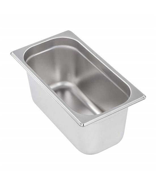 1/3 Stainless Steel Gastronorm (GN) Pans