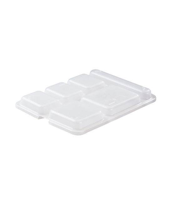 Lid for 6 Compartment Serving Tray Copolymer