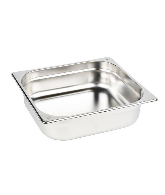 2/3 Stainless Steel Gastronorm (GN) Pans