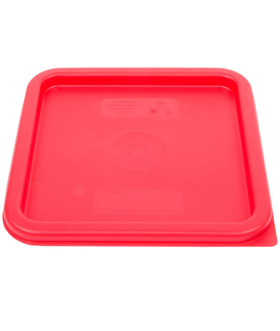 Square Seal Lid for 5.7 & 7.6 Litre Food Containers Translucent