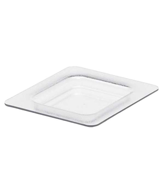 1/6 Size White Food Pans Cover