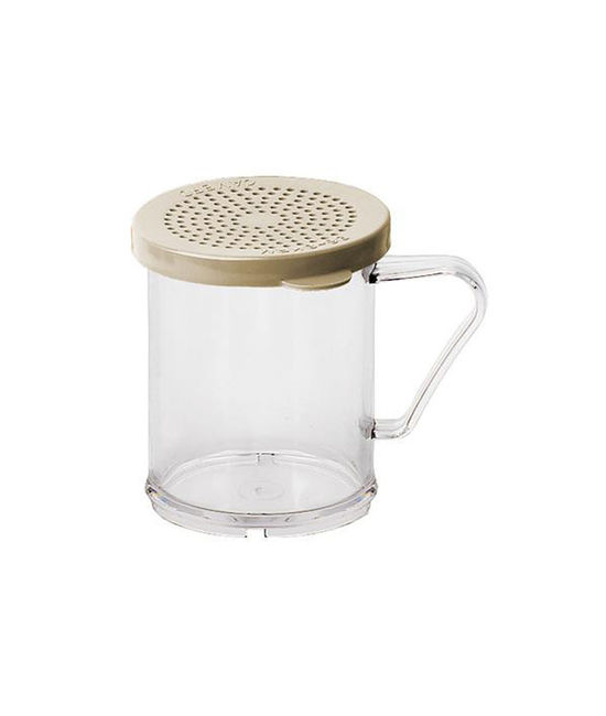 Polycarbonate Dredge Shaker with Salt & Pepper Lid