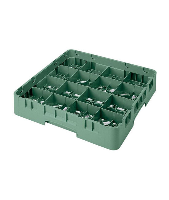 16 Compartment Washcrates with 1 Extender (4.5'')