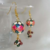 Small and pretty jhumkis - ME049
