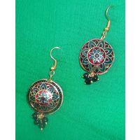 Meenakari earrings-ME078