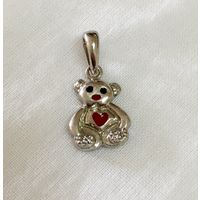 92.5 Sterling silver pendant-PD059