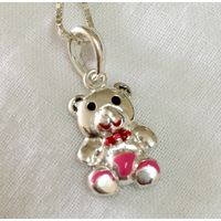92.5 Sterling silver pendant-PD062