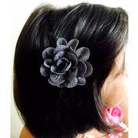 Kids Hairclip in flower design-KC046