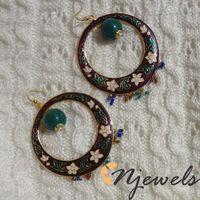 Meenakari earrings-ME031
