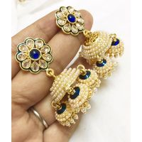 Jhumki style earrings-KEG119