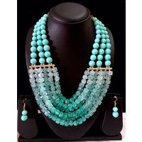 Beaded necklace-MD061