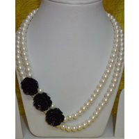 Soothing white necklace-MD049